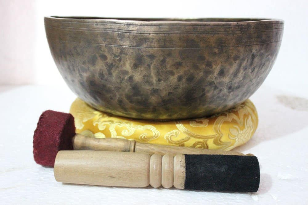 Himalayan Singing Bowls - 12 Inches Healing Meditation Tibetan Singing Bowl, Hand Hammered Himalayan Singing Bowls From Nepal