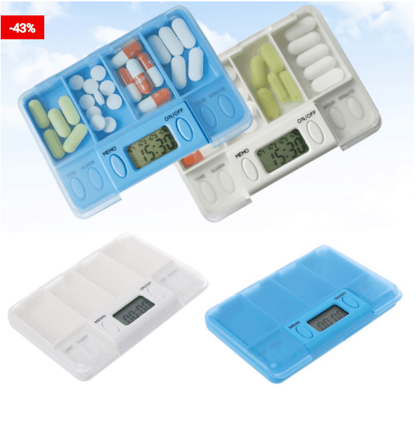 Automatic Medicine Reminder Pill Box For You